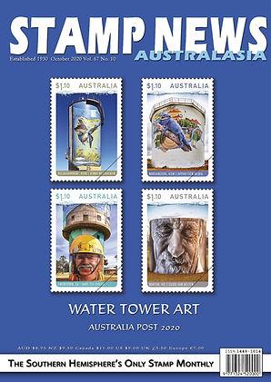 Stamp News Australasia Magazine 6710 Oct