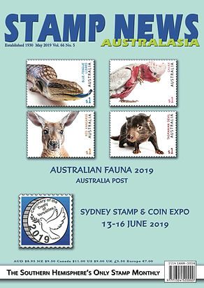 Stamp News Australasia Magazine 6605 May