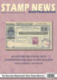 Stamp News Australasia Magazine 6509 Sep