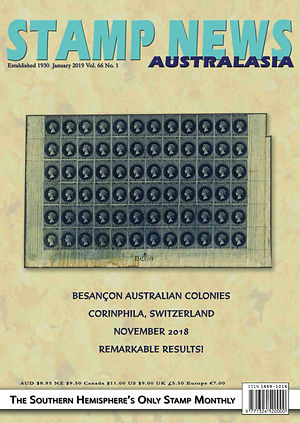 Stamp News Australasia Magazine 6601 Jan