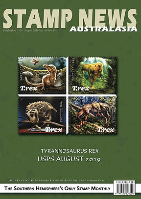 Stamp News Australasia Magazine 6608 Aug