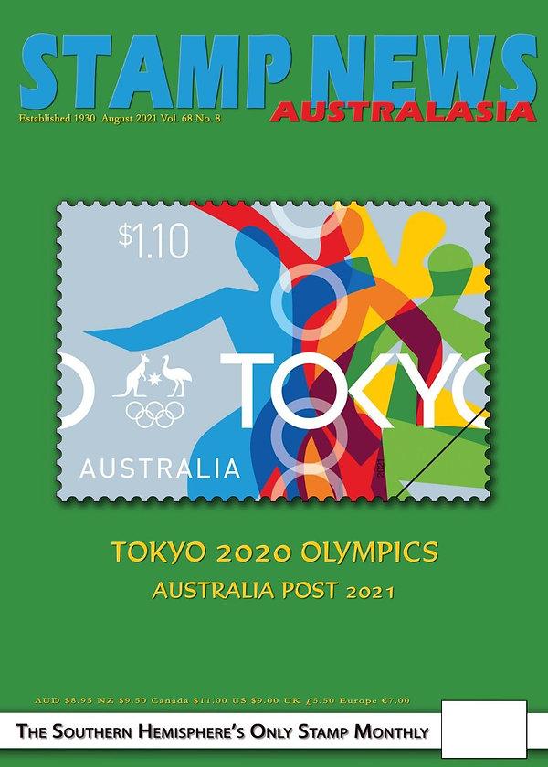 Stamp News Australasia Magazine 6808 August 2021 - cover.jpg