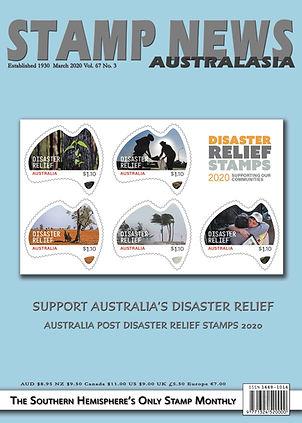 Stamp News Australasia Magazine 6703 Mar