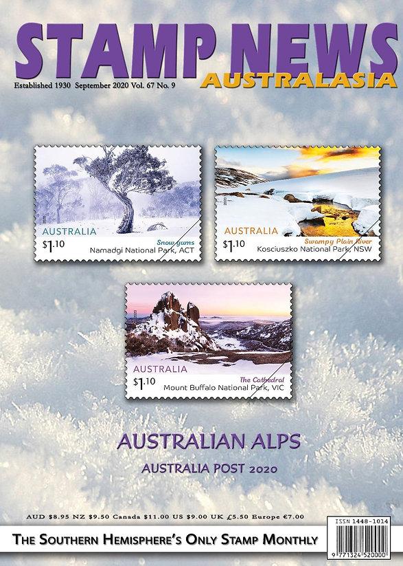 Stamp News Australasia Magazine 6709 Sep