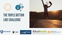 THE TRIPLE BOTTOM LINE CHALLENGE - EVENT
