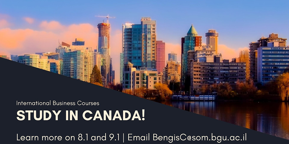 Canada Courses Info Session