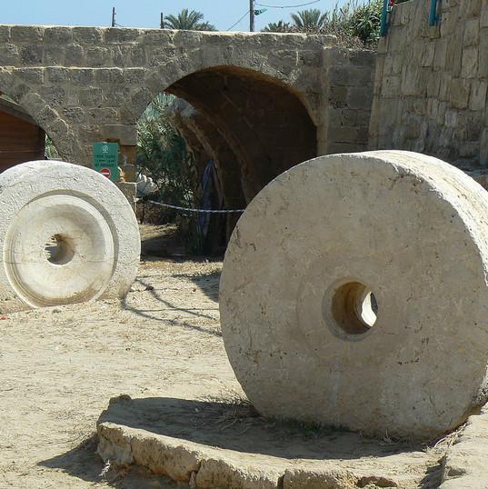 Achziv antiquities- north region