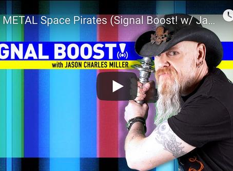 Jason Guest Hosts 'Signal Boost!'