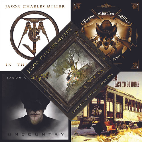 5 CD Combo - Autographed