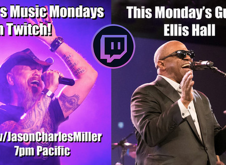 This Monday, July 13th!  Miller's Music Mondays with special guest Ellis Hall!