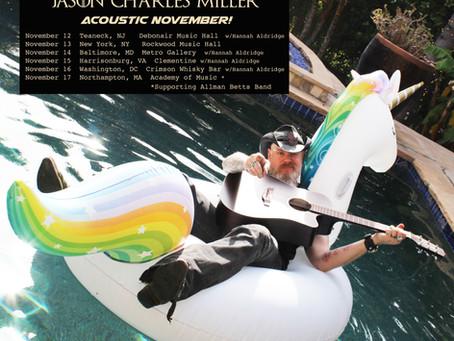 Acoustic November!