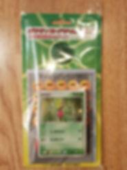 23.Japansk Treecko starter theme deck.jp