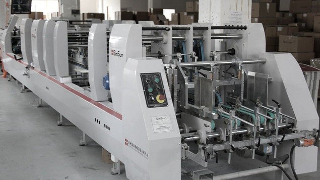 AUTOMATED GLUING MACHINE