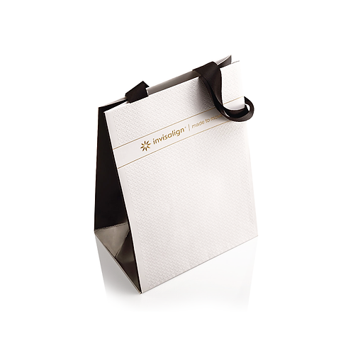 Paper Bags with Threaded Handles
