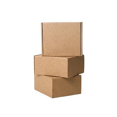 Eco Plain Brown Courier Box