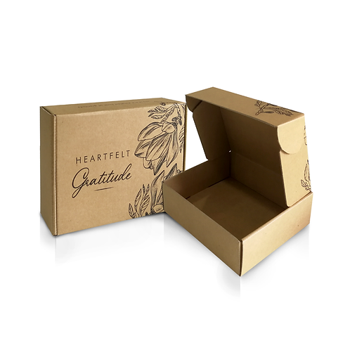 Floral Courier Box (S)