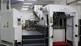 AUTOMATIC HOT FOIL EMBOSSING