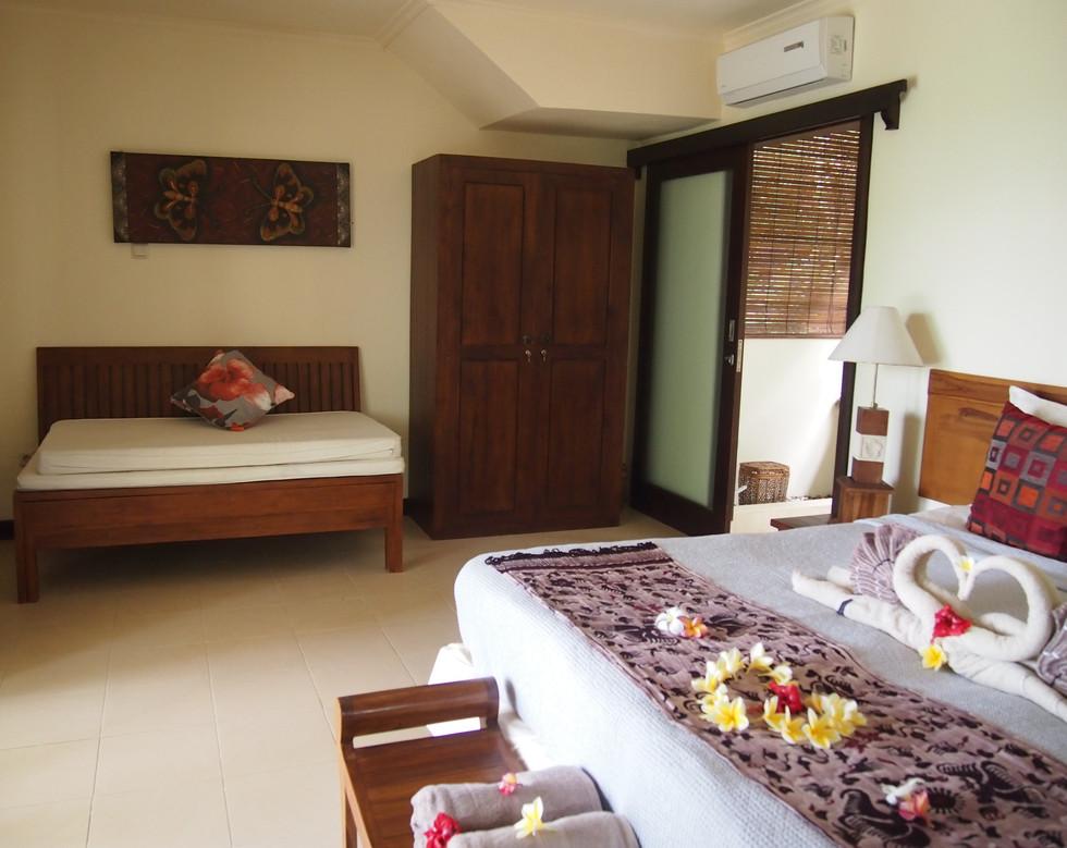 Kupu Kupu downstairs bedroom