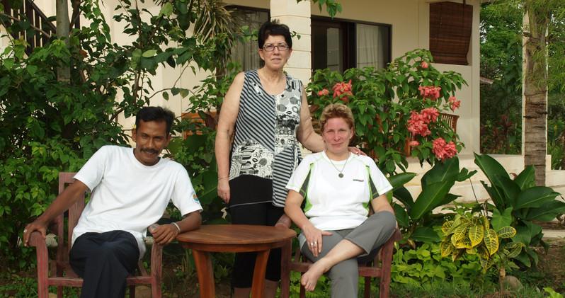 Founder members Bagus, Liisi and Virpi