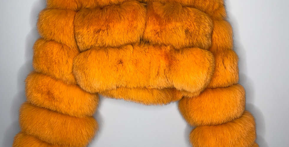 Hooded Burnt Orange