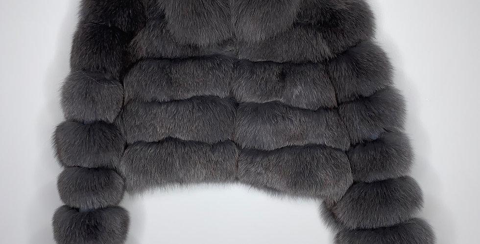 Smoke GreyCropped Fox