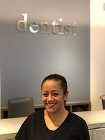 lorna lally dmd, staff member, woman , dentist, front desk
