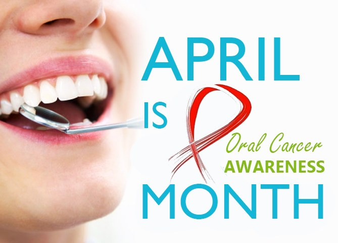 april, oral cancer awareness, mouth
