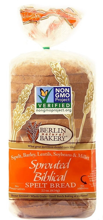 Berlin Spelt Sprouted Biblical Bread 22oz