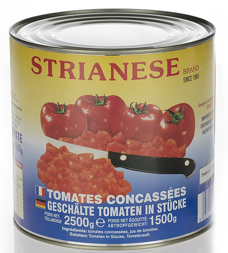 Strianese Diced Tomatoes 2500g​