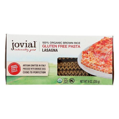 Jovial Organic Brown Rice Lasagna 9oz