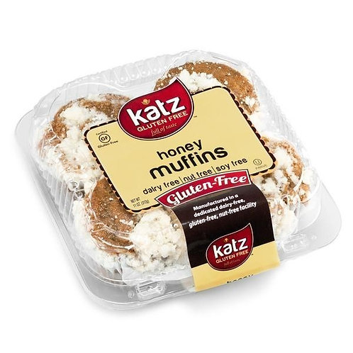 Katz GF DF Honey Muffins 11oz