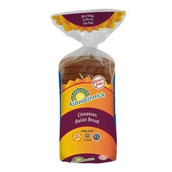 Kinnikinnick GF DF Cinnamon Raisin Bread 19.8oz