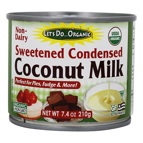 Let's Do Organic DF Sweet Condensed Coconut Milk 7.4oz