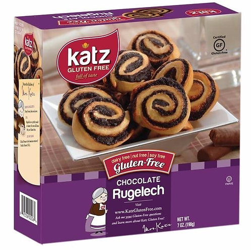 Katz GF DF Chocolate Rugelech 7oz