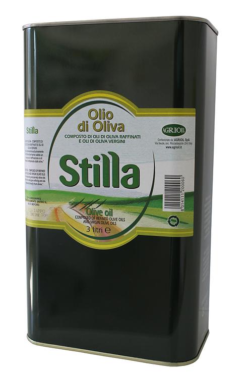 Stilla Pure Olive Oil 3L