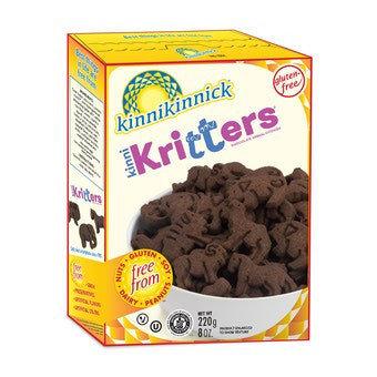 Kinnikritters GF DF Chocolate Animal Cookies 7oz