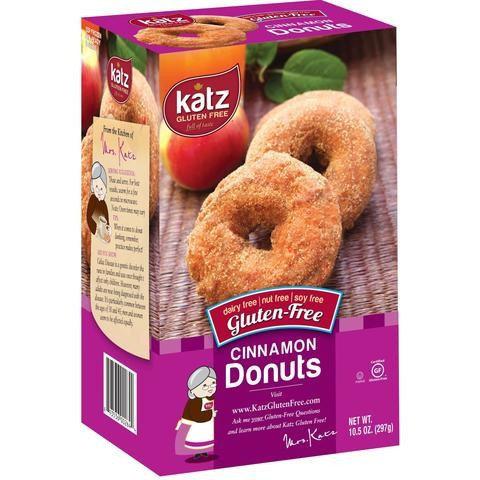 Katz GF DF Cinnamon Donuts 10.5oz