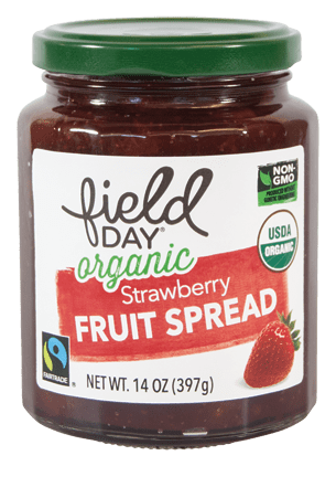 Field Day Organic Srawberry Fruit Spread 14oz
