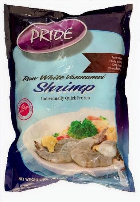 Pride Raw Shrimp 16-20 Peeled & Deveined 2lbs