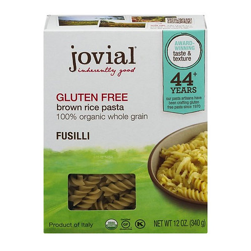Jovial Organic Brown Rice Fusilli 12oz