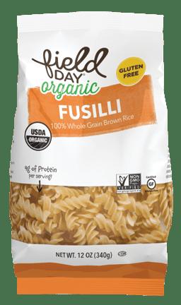 Field Day Organic GF Brown Rice Fusilli 12oz