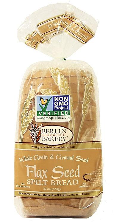Berlin Spelt Flaxseed Bread 22oz