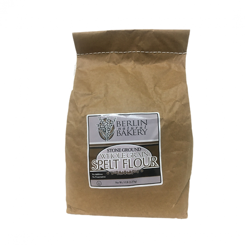 Berlin Spelt Stone Ground Whole Flour 5lbs