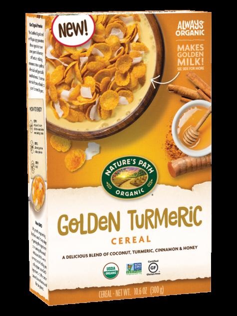 Natures Path Organic Golden Turmeric Cereal 10.6oz