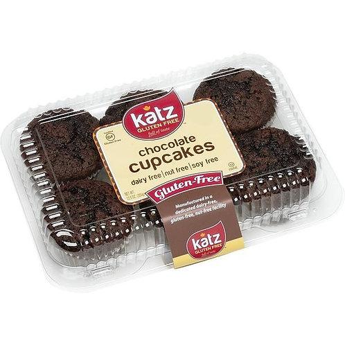 Katz GF DF Chocolate Cupcakes 12.5oz