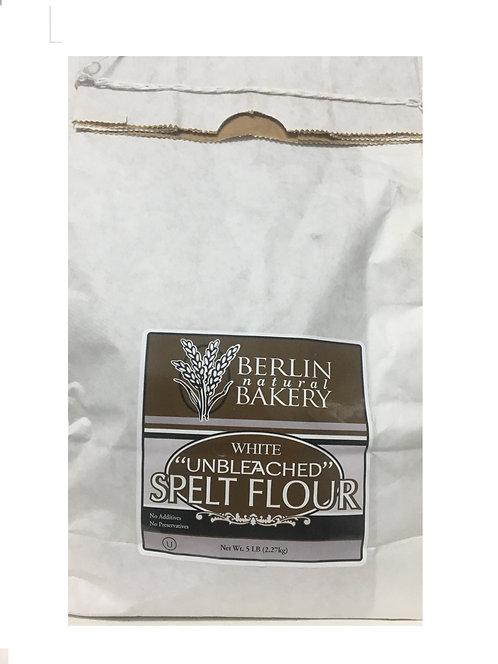 Berlin Spelt White Unbleached Flour 5lbs