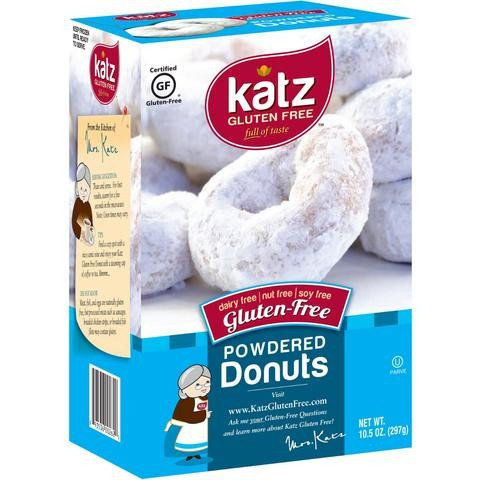 Katz GF DF Powdered Donuts 10.5oz