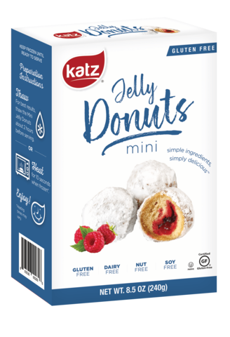 Katz GF Mini Jelly Donuts 8.5oz
