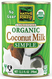 Native Forest Organic DF Unsweetened Coconut Milk 13.5oz