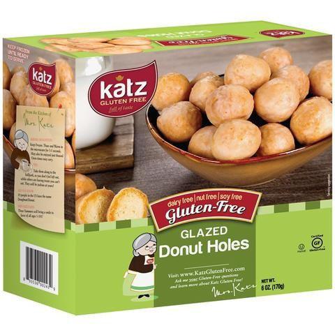 Katz GF DF Glazed Donut Holes 6oz